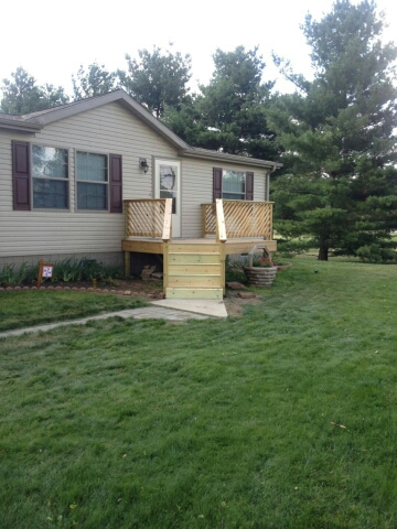 Front Deck Addition To Manufactured Home Images Frompo